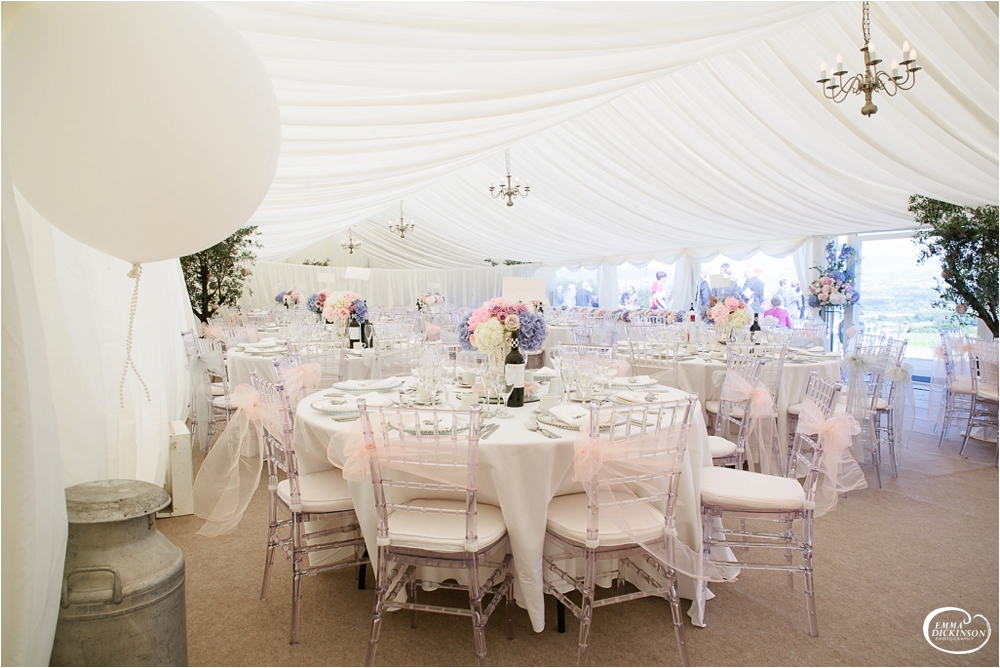 Marquee Lancashire Countryside Wedding-115