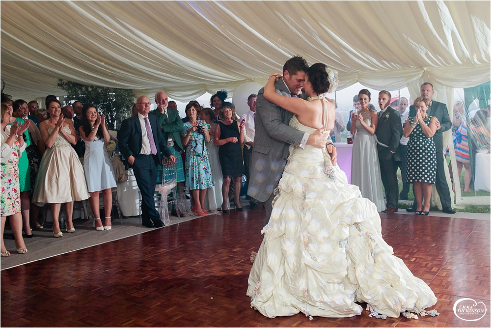 Marquee Lancashire Countryside Wedding-164