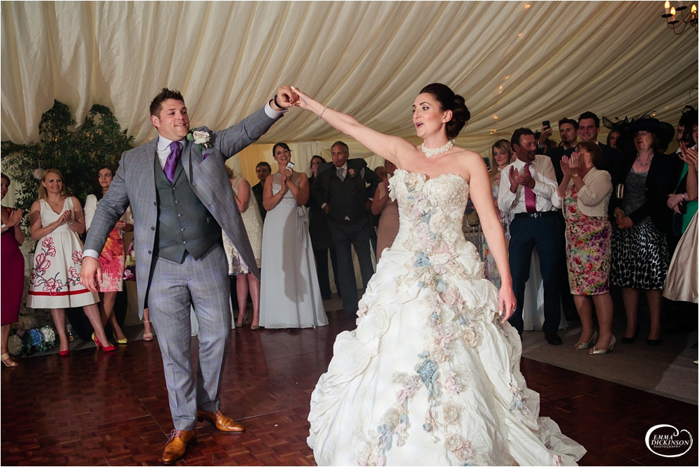 Marquee Lancashire Countryside Wedding-166