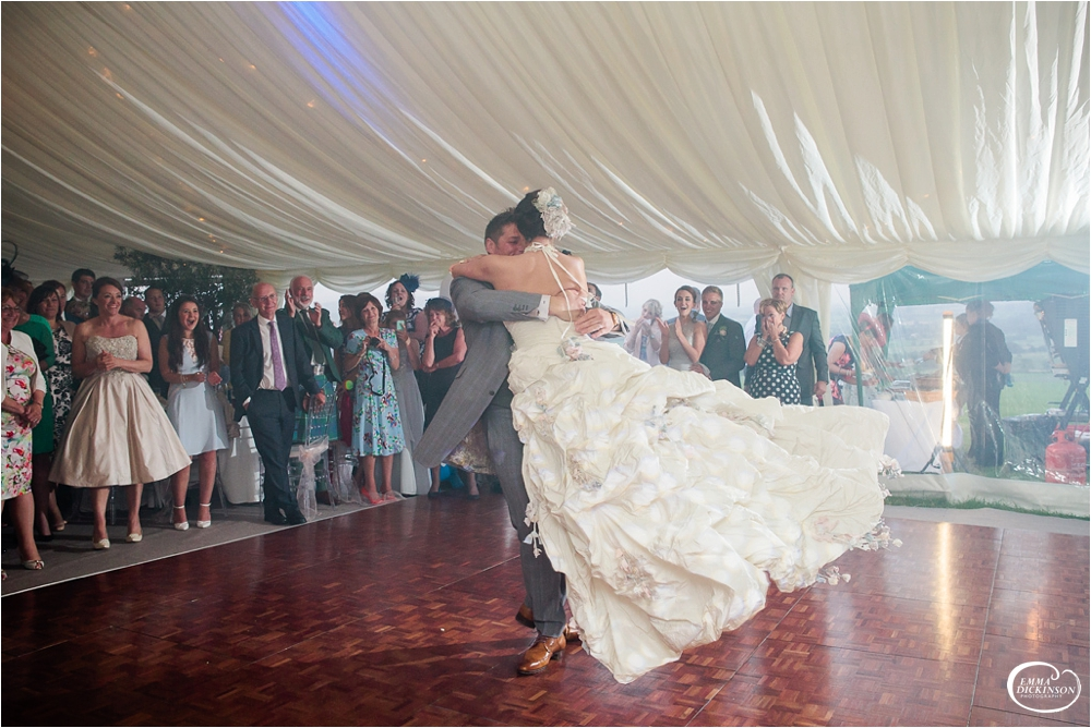 Marquee Lancashire Countryside Wedding-167