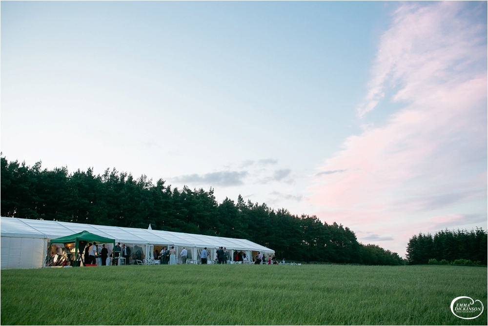 Marquee Lancashire Countryside Wedding-173