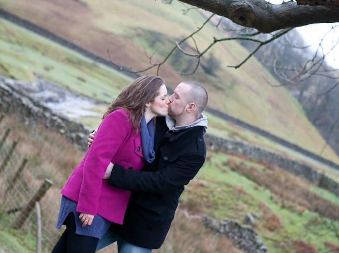 Washtubs, Barbon Beck {Hayley & John: pre-wedding Shoot}