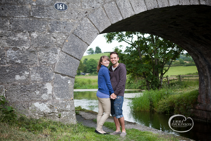 Crooklands Canal {Katie & Robin: Pre-Wedding Shoot}